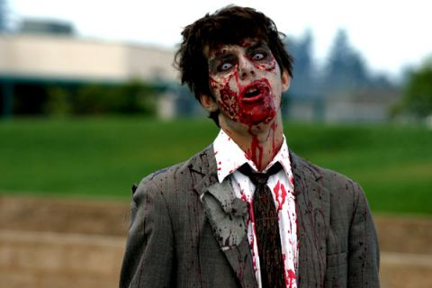 Office Zombie Employee
