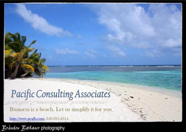 Business is a beach